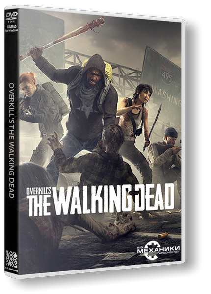 OVERKILL's The Walking Dead (RUS|ENG|MULTI8) [RePack] от R.G. Механики