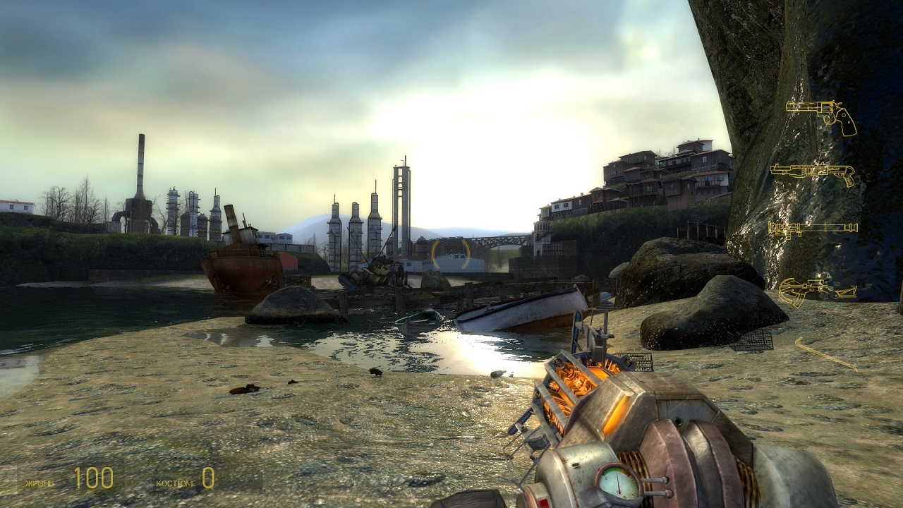 Half-Life 2: Lost Coast (2005/PC/Русский), RePack