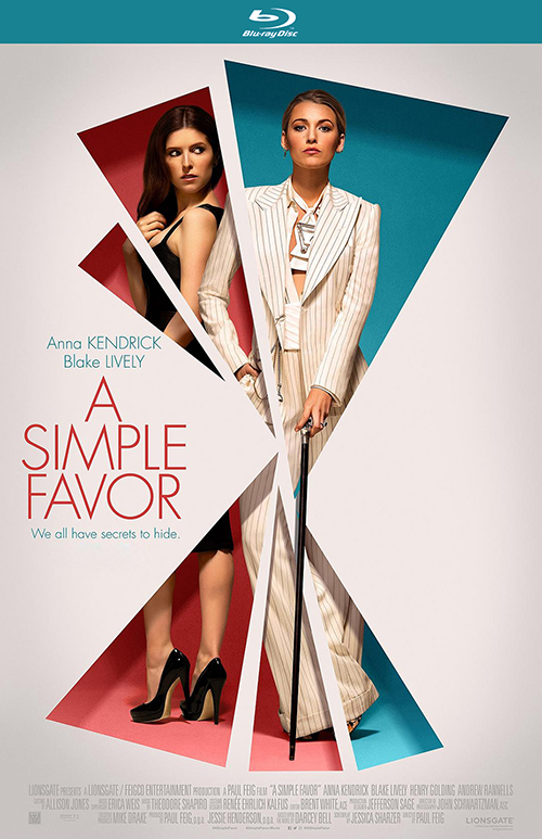 Простая просьба / A Simple Favor (2018) BDRip 1080p от селезень | iTunes