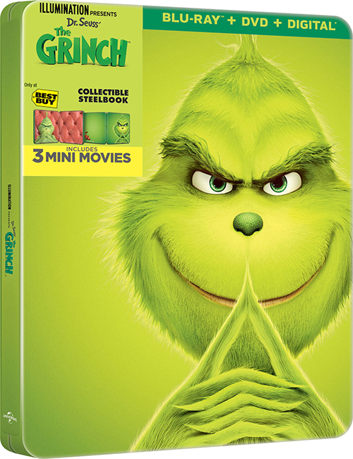 Гринч / The Grinch (2018) BDRemux 1080p от селезень | D, P | iTunes