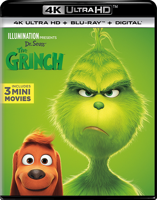 Гринч / The Grinch (2018) UHD BDRemux 2160p от селезень | 4K | HDR | D, P | iTunes