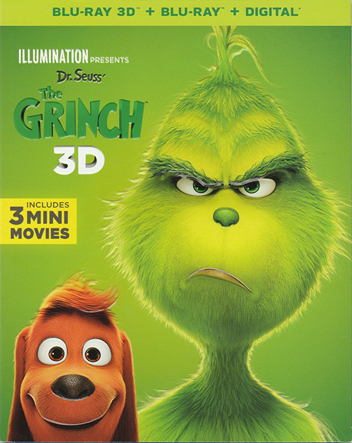 Гринч / The Grinch (2018) BDRemux 1080p от селезень | 3D-Video | D, P | iTunes