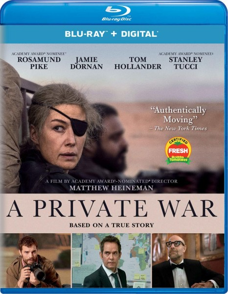 Частная война / A Private War (2018/BDRip/HDRip)