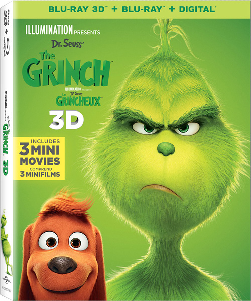 Гринч / The Grinch (2018) BDRip 3D (HOU), Blu-Ray 3D CEE