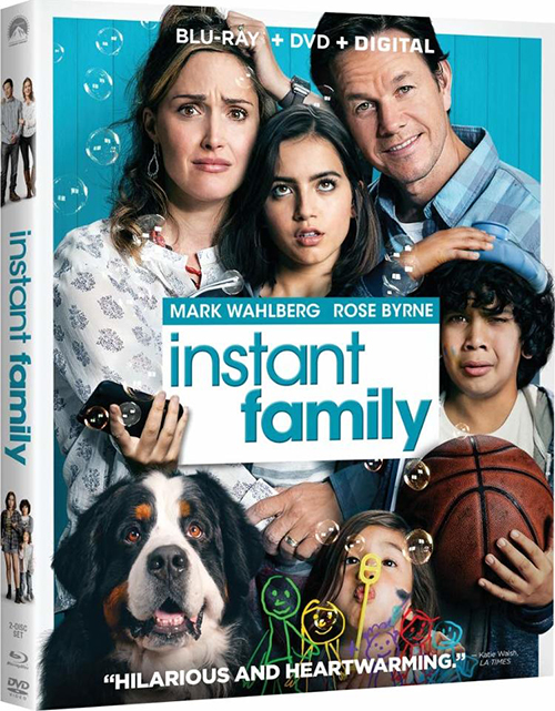 Семья по-быстрому / Instant Family (2018) BDRip 720p от селезень | Лицензия